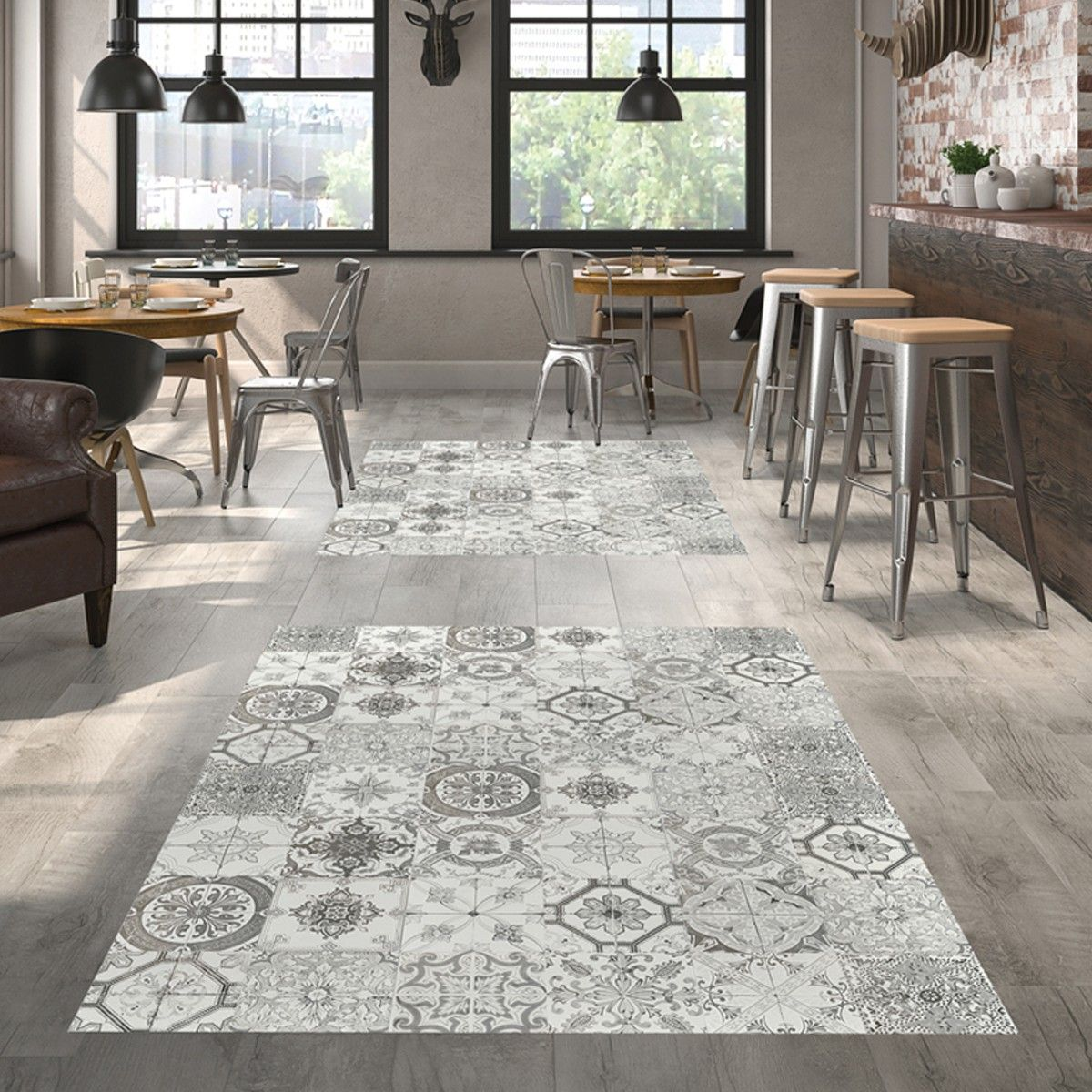 Nikea Matt Grey Porcelain Wall Floor Tiles Patterned Floor Tiles Ceramic Floor Tile Wall And Floor Tiles