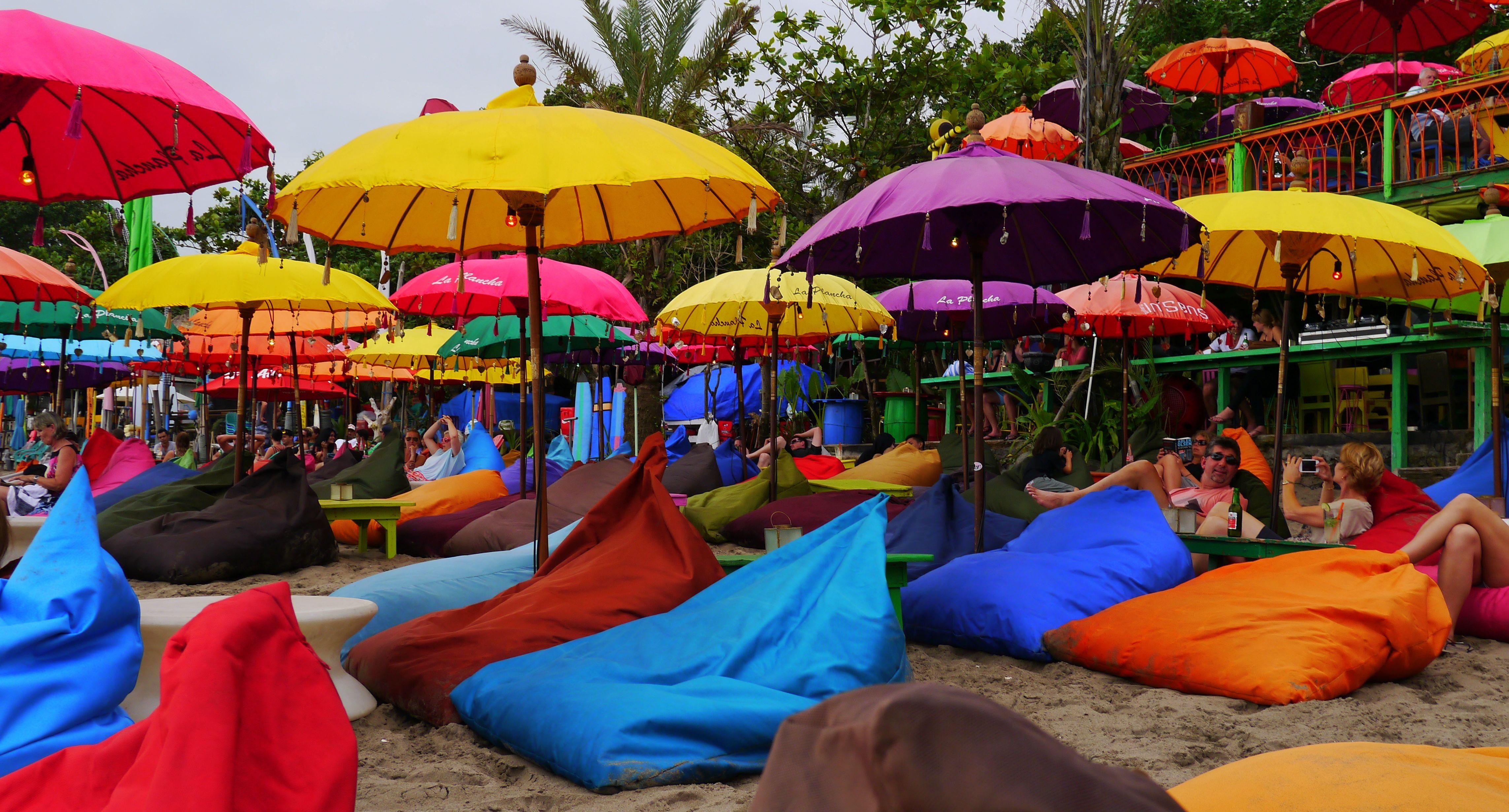 La Plancha beach bar, Seminyak, Bali A good place to