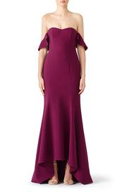 7d14e6ee4f5e Purple Sunset Gown by LIKELY