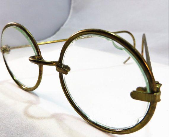 b20e00ae5da Vintage Antique Round Prop Eyeglasses by AnAntiquePicker2 on Etsy ...
