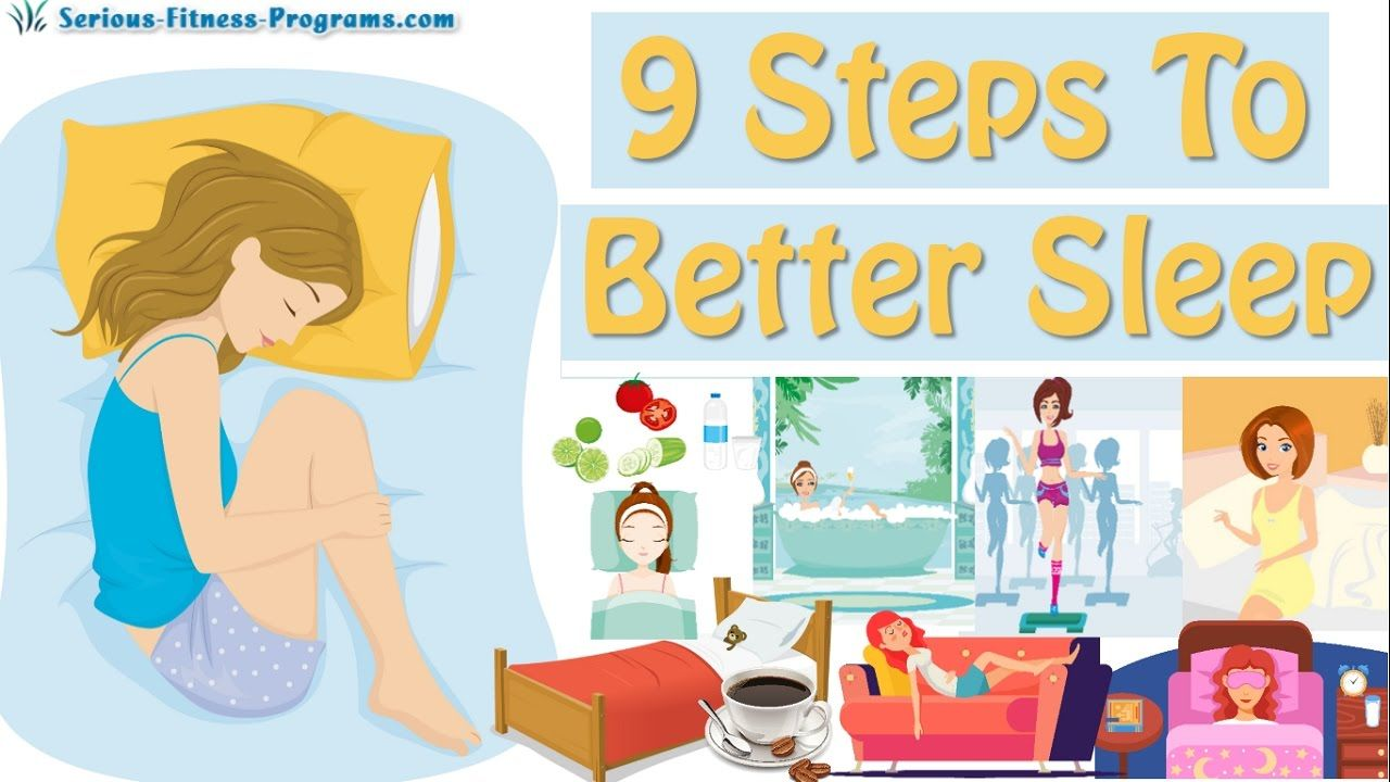 9 Tips How To Sleep Better! How To Fall Asleep Fast