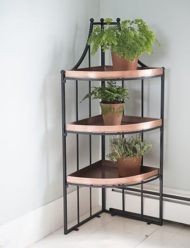 Essex Quarter Round Plant Stand | Copper | Pinterest | Jardín