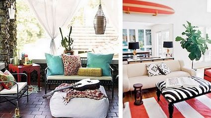 Inside the home, the surfer way. Read http://www.goodlifetips.co.za for living the good life with little money