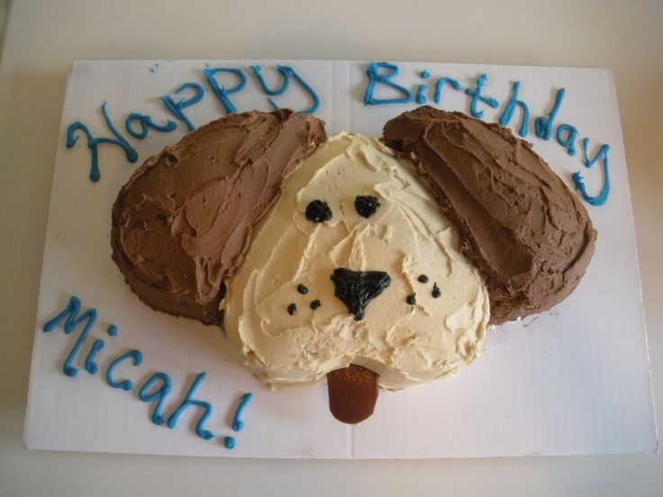Surprising Easy Dog Shaped Birthday Cake Easy Cakes For Kids Puppy Cake Funny Birthday Cards Online Elaedamsfinfo