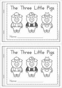 the three little pigs preschool activities the three pigs emergent reader preschool and 753