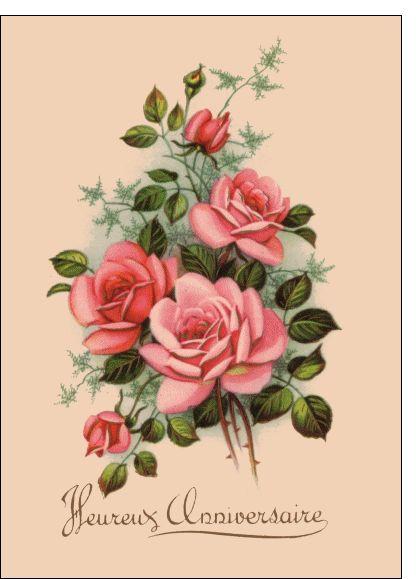 Pour ma femme fleur Joyeux Anniversaire Carte avec enveloppe Femme Anniversaire NEUF