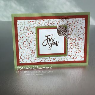 Thoughtful branches-stampingwithrosalie.blogspot.com #stampinup…