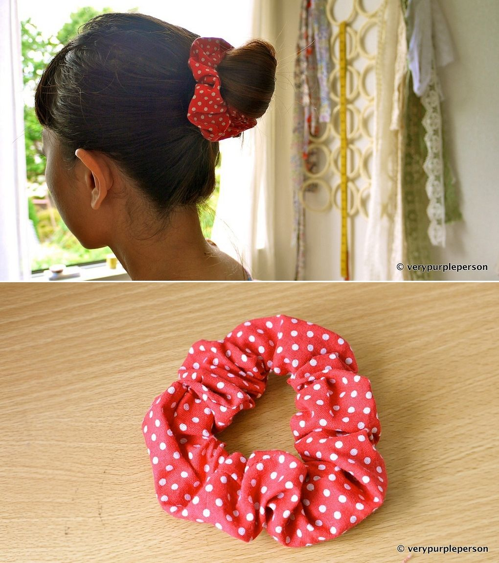 DIY: hair scrunchies | costurinhas | Pinterest | Nähen