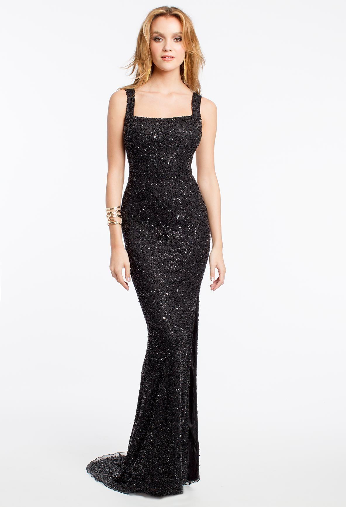 camillelavie #groupusa #longdresses #sparkle #blackdresses | HOLIDAY ...