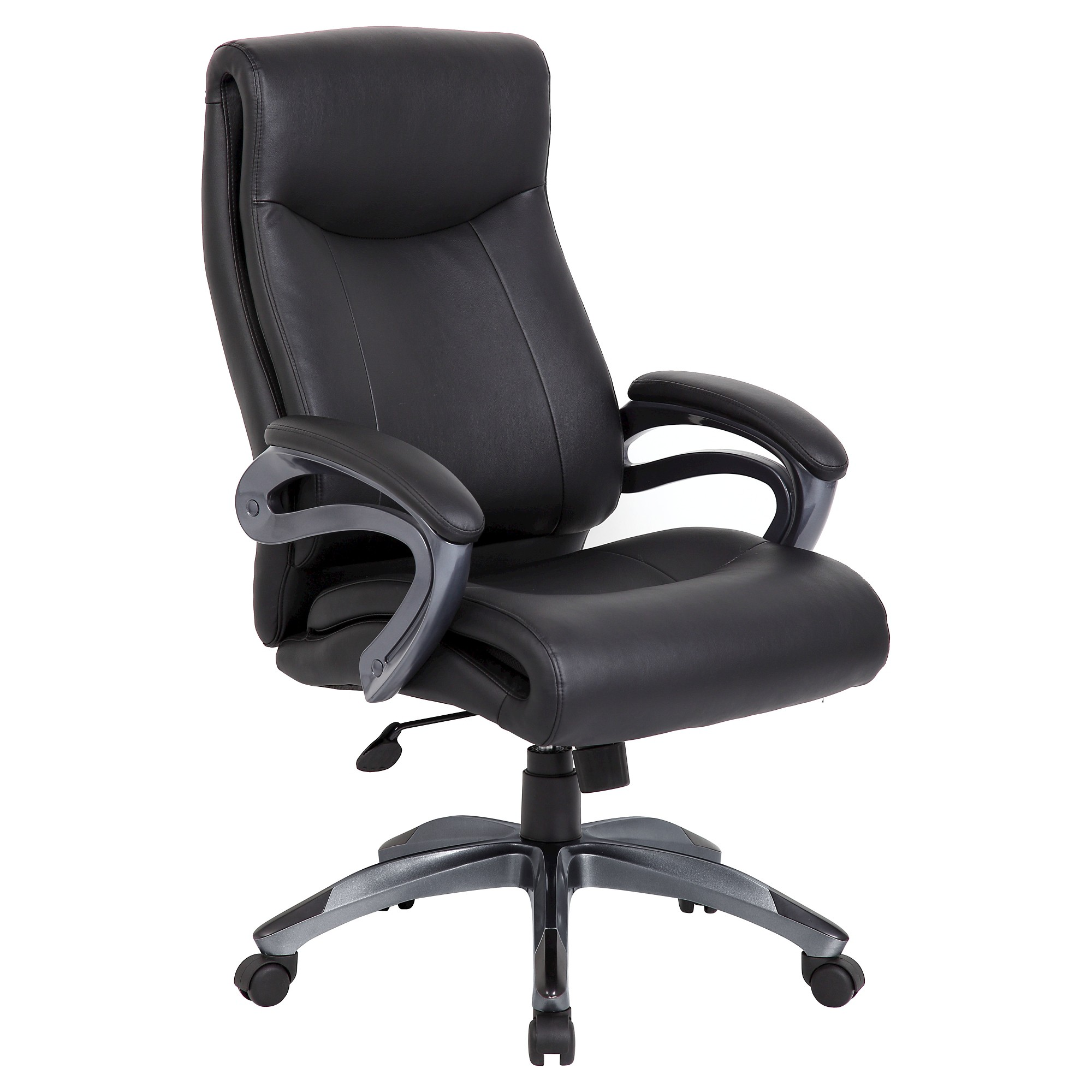 Double Layer Executive Chair Black Boss Office Products