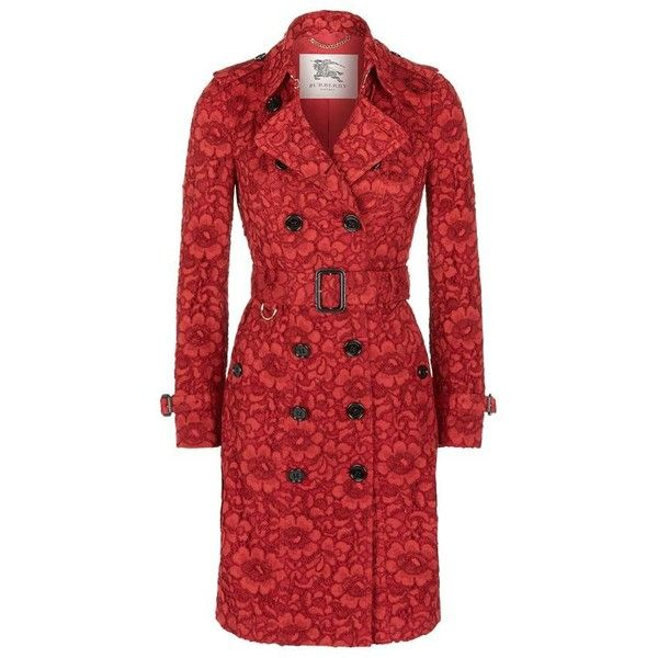 Burberry London Sandringham Lace Trench Coat (37.502.585 IDR