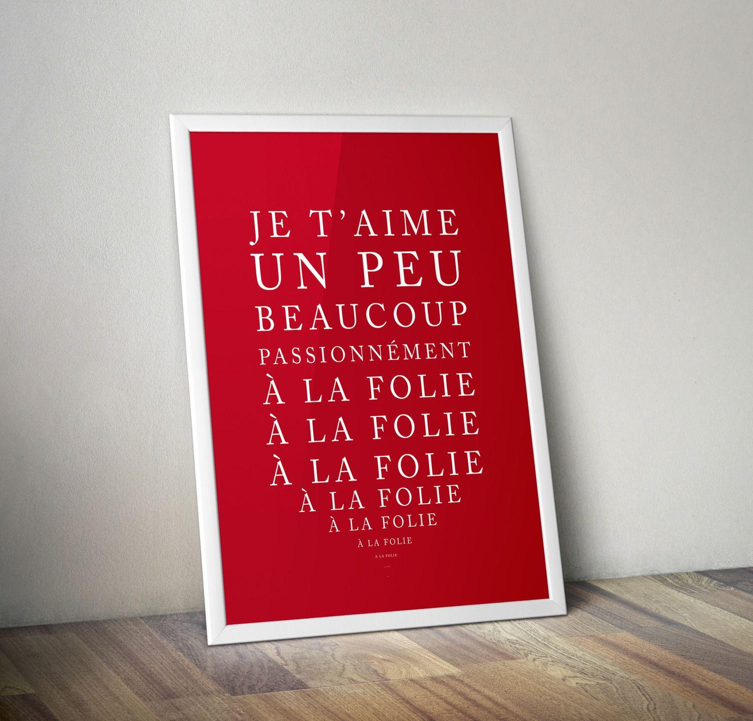affiche d claration d 39 amour texte t l charger affiches illustrations posters par rgb. Black Bedroom Furniture Sets. Home Design Ideas