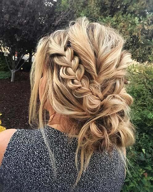 21 Most Outstanding Braided Wedding Hairstyles: 21 Beautiful Braided Updo Ideas For The Holidays: #1