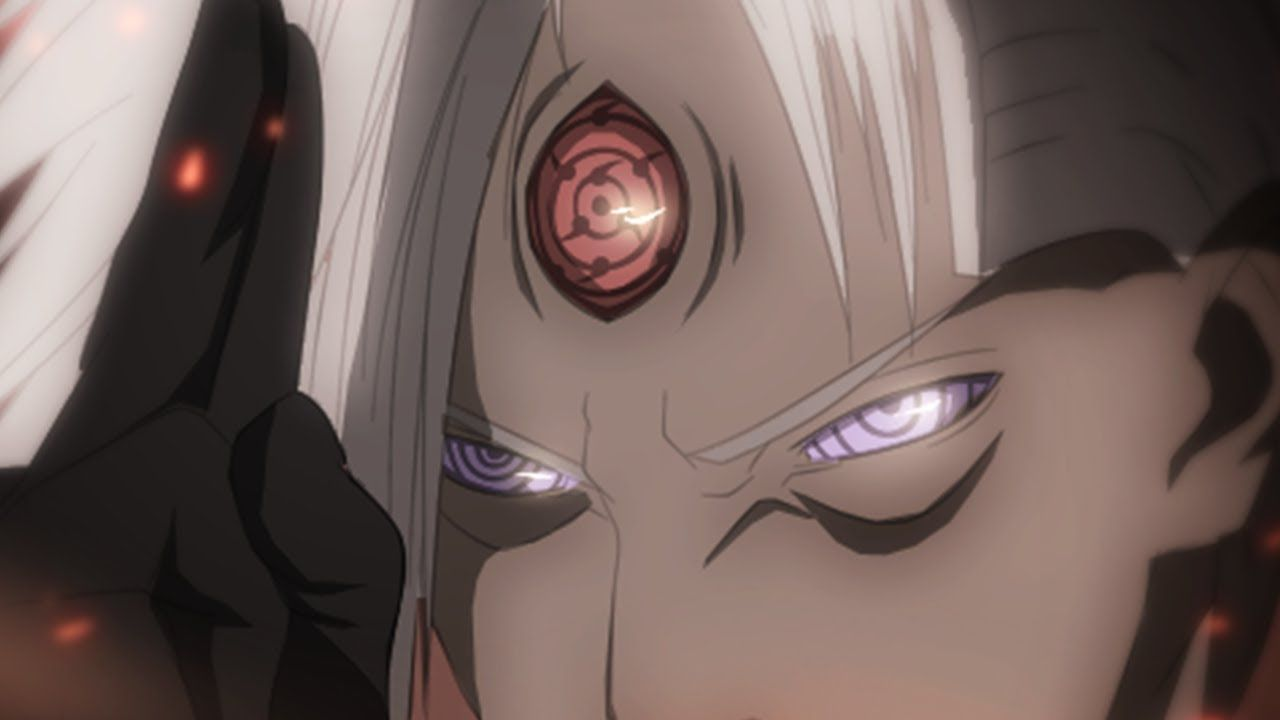 Madara after awakening his third eye :) | Anime, Anime characters, Third eye