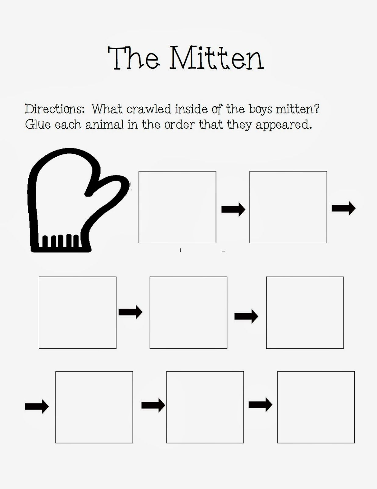 The Autism Adventures Of Room 83 The Mitten By Jan