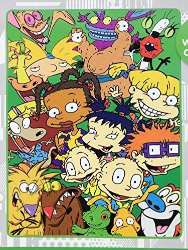 Nickelodeon 90s Cartoons : nickelodeon, cartoons, Nickelodeon, Cartoons, Super, Plush, Throw, Blanket, Https://www.amazon.com/dp/B01L0NYOKC/ref=cm_sw_r_pi_dp_x_…, Cartoons,