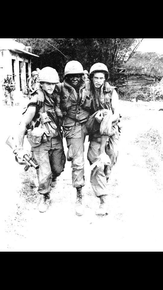 America politically lost the war in Vietnam, but we can't deny the role it played in the feat of racism.  Aside from the battle at Tarawa during the Pacific Campaign of World War II, Vietnam was the first prolonged conflict America had where all nationalities fought together,  and formed a brotherhood in all branches of the service.