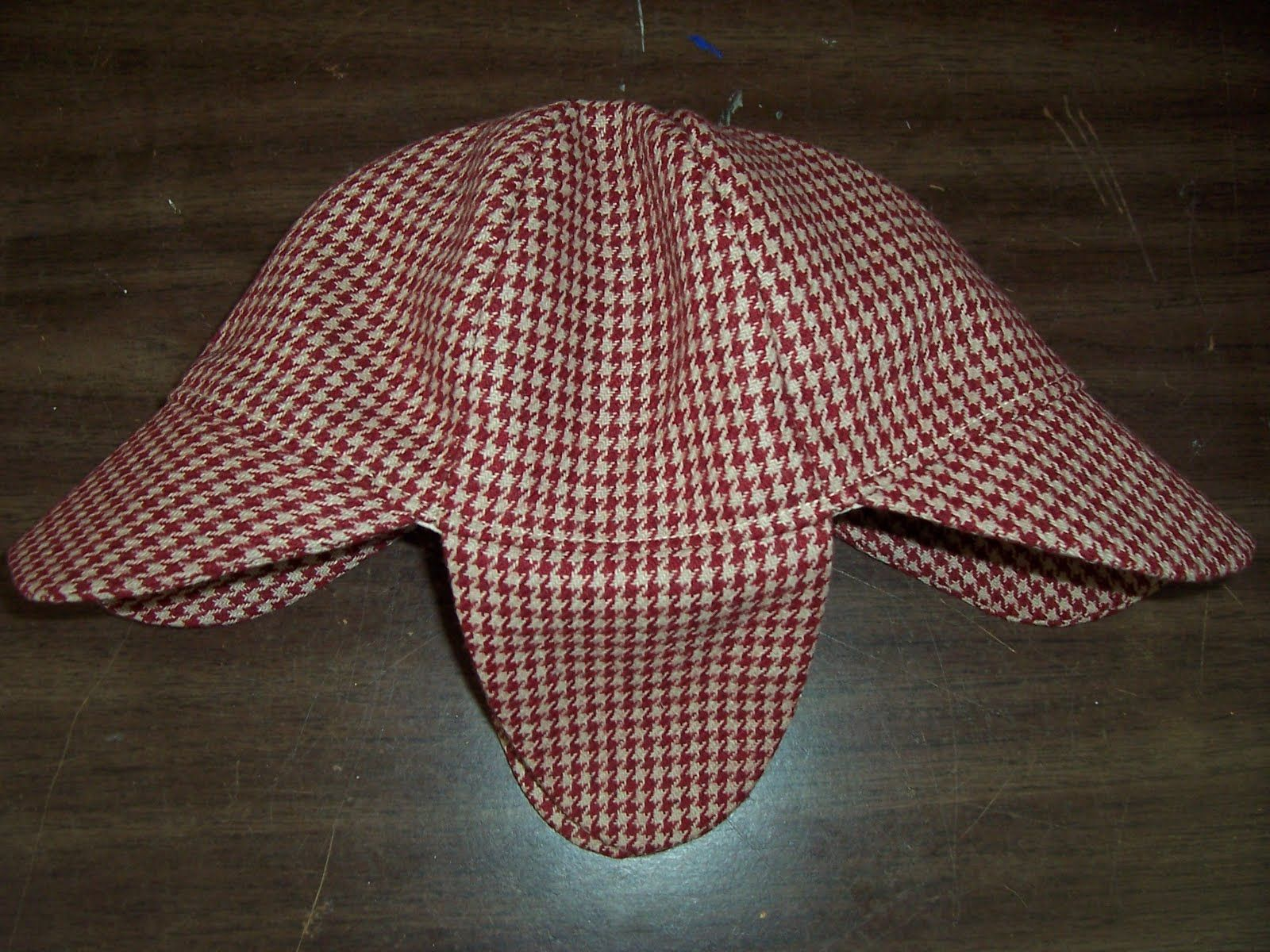 This Is A Pattern For A Basic Deerstalker Hat It Fits An