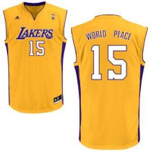 3dd0f1e2bcc World Peace Lakers Jersey – Metta (Ron Artest) #15   Sports ...