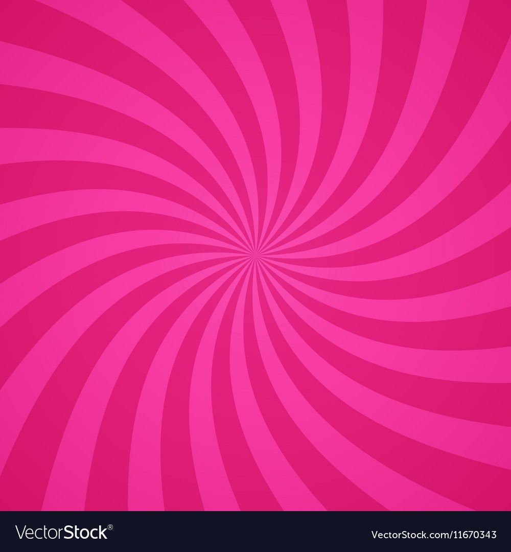 Swirling Radial Pink Pattern Background Royalty Free Vector