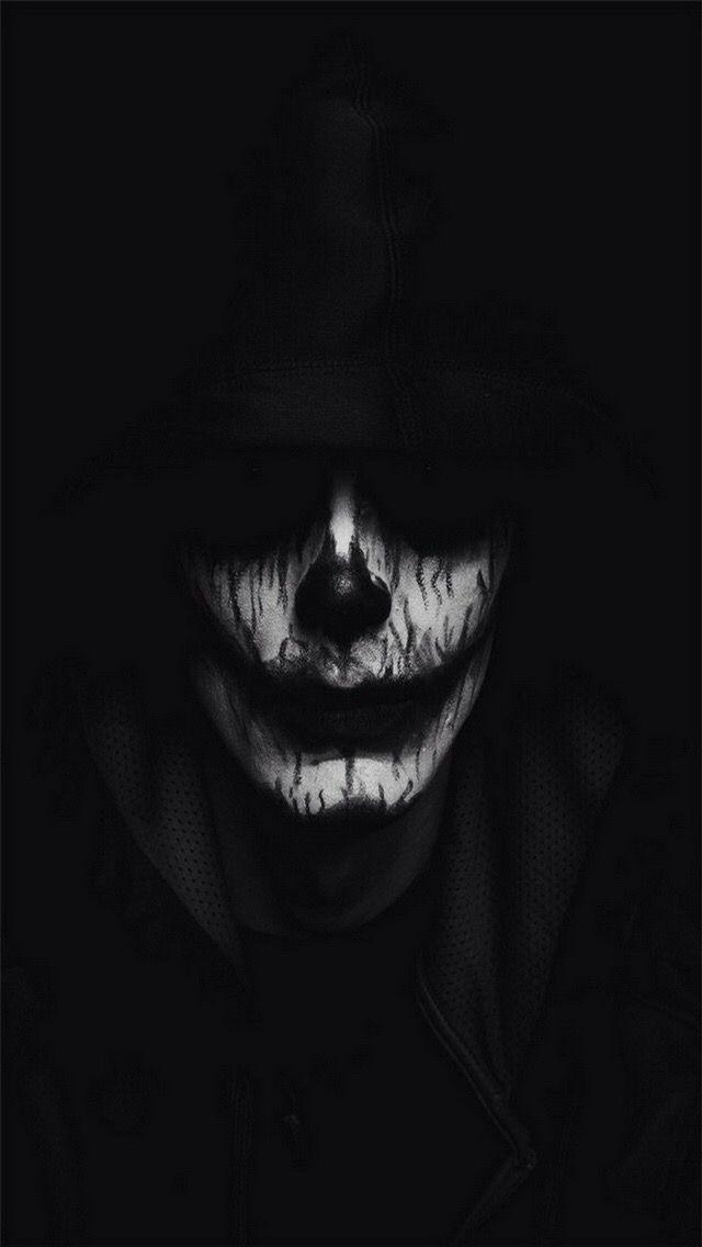 Scary Skeleton Wallpaper *Skeleton, Clowns, Guns