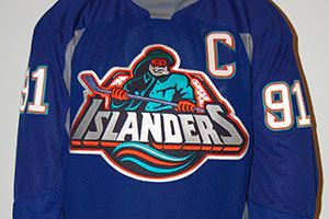 new style 90e35 0b8c6 New York Islanders fisherman jersey auction | My NHL Wish ...