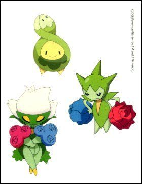 Budew Roselia Temporaray Tattoo By Fun 1 99 This Temporary Contains Pokemon Characters Sheet Sixe 3 X4