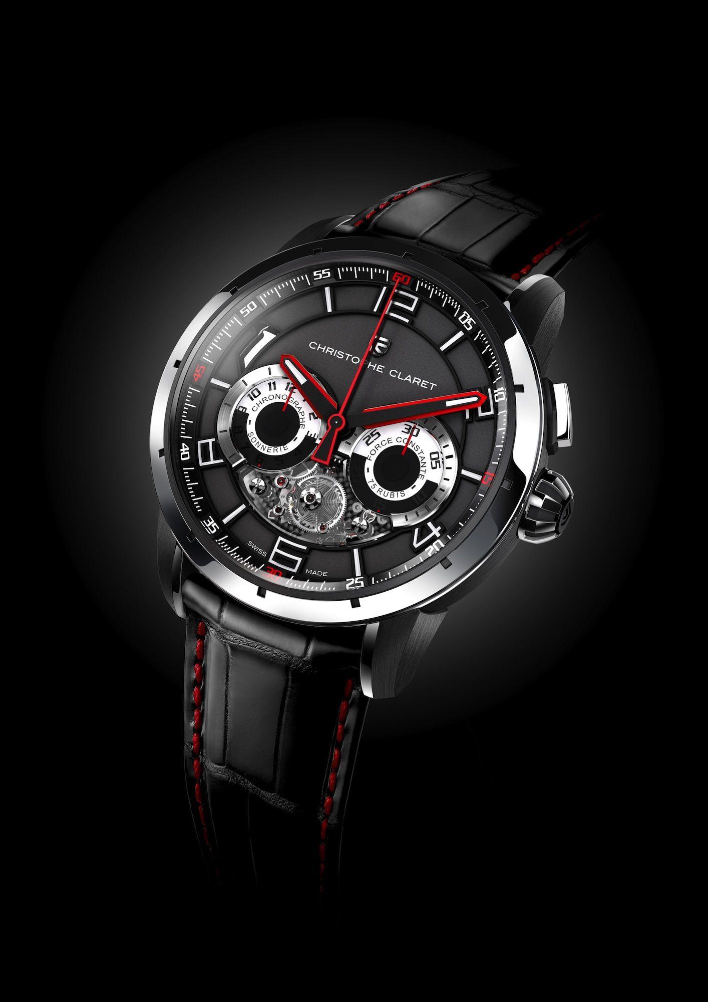 """98967adb9e1 Christophe Claret apresenta relógio inspirado no filme """"Tron  o Legado"""""""