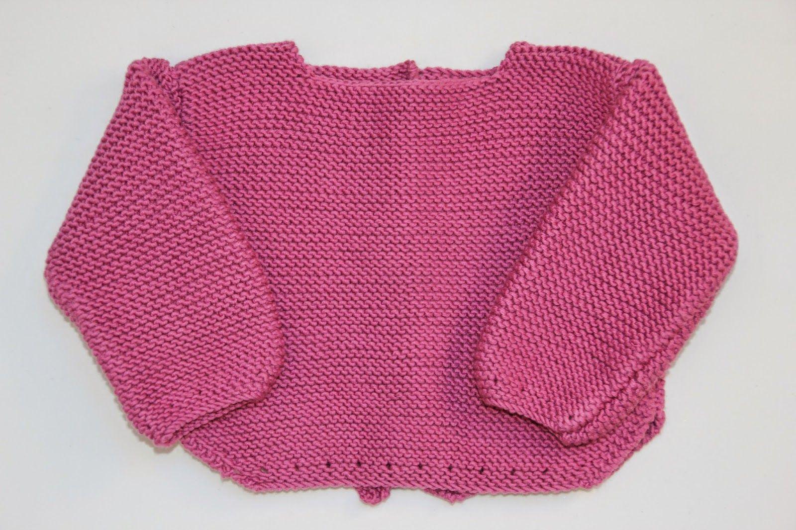 diy tejer sweater jersey bebe punto lana patrones gratis   Tejiendo ...