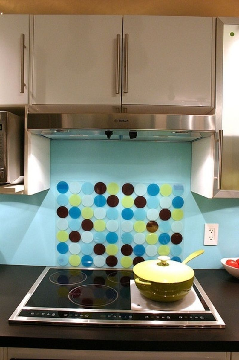 7. #Easiest Backsplash on #Earth - 7 Delightful #Dollar Store ...