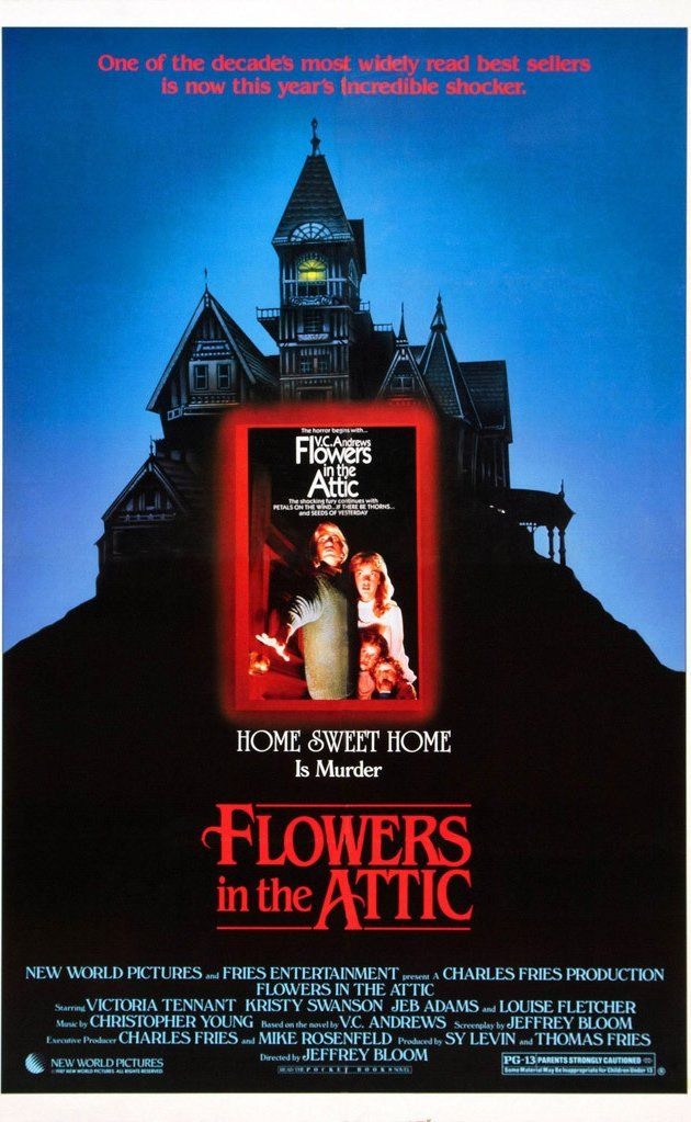 Flowers In The Attic Directed By Jeffrey Bloom With Louise Fletcher Victoria Tennant Kristy Swanson Jeb Stuart Ad Flowers In The Attic Good Movies Movies