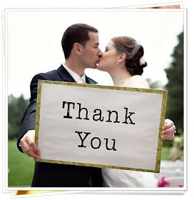 Before the I Do's Wedding Blog: Etiquette Tips for Sending Thank You Cards after the Big Day
