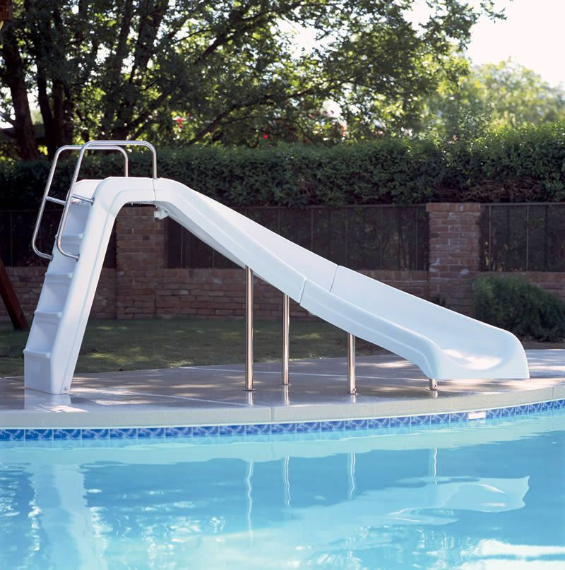 Check out the deal on Interfab White Water Pool Slide at