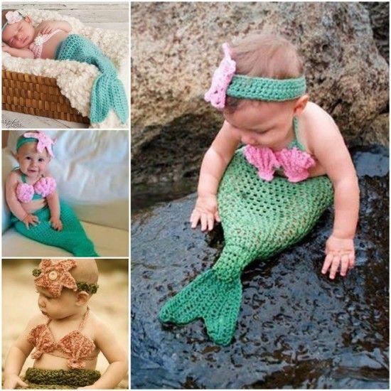 Mermaid Crochet Projects!