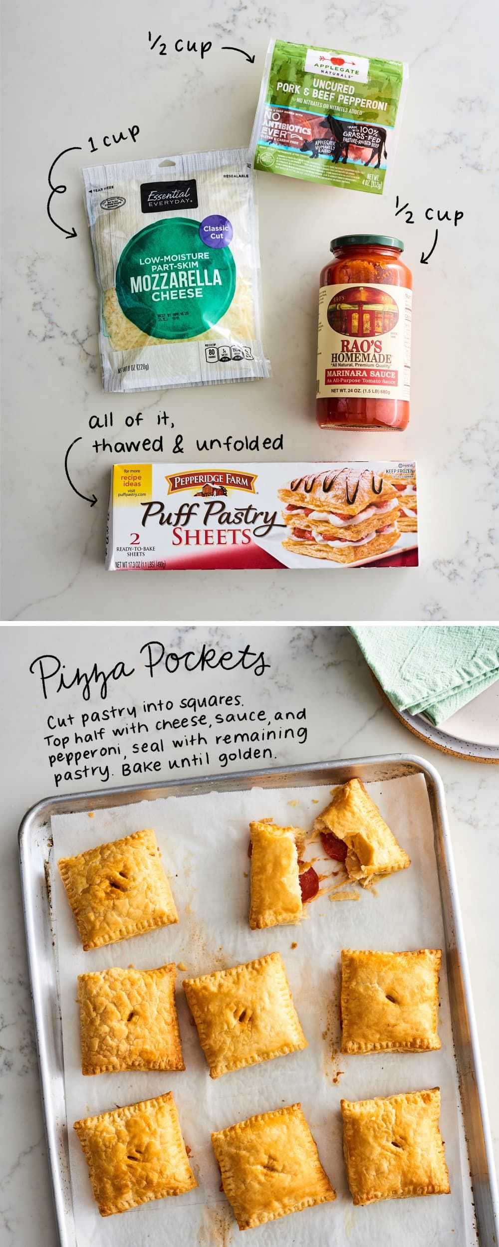 These 5Ingredient Puff Pastry Appetizers Are Impossibly