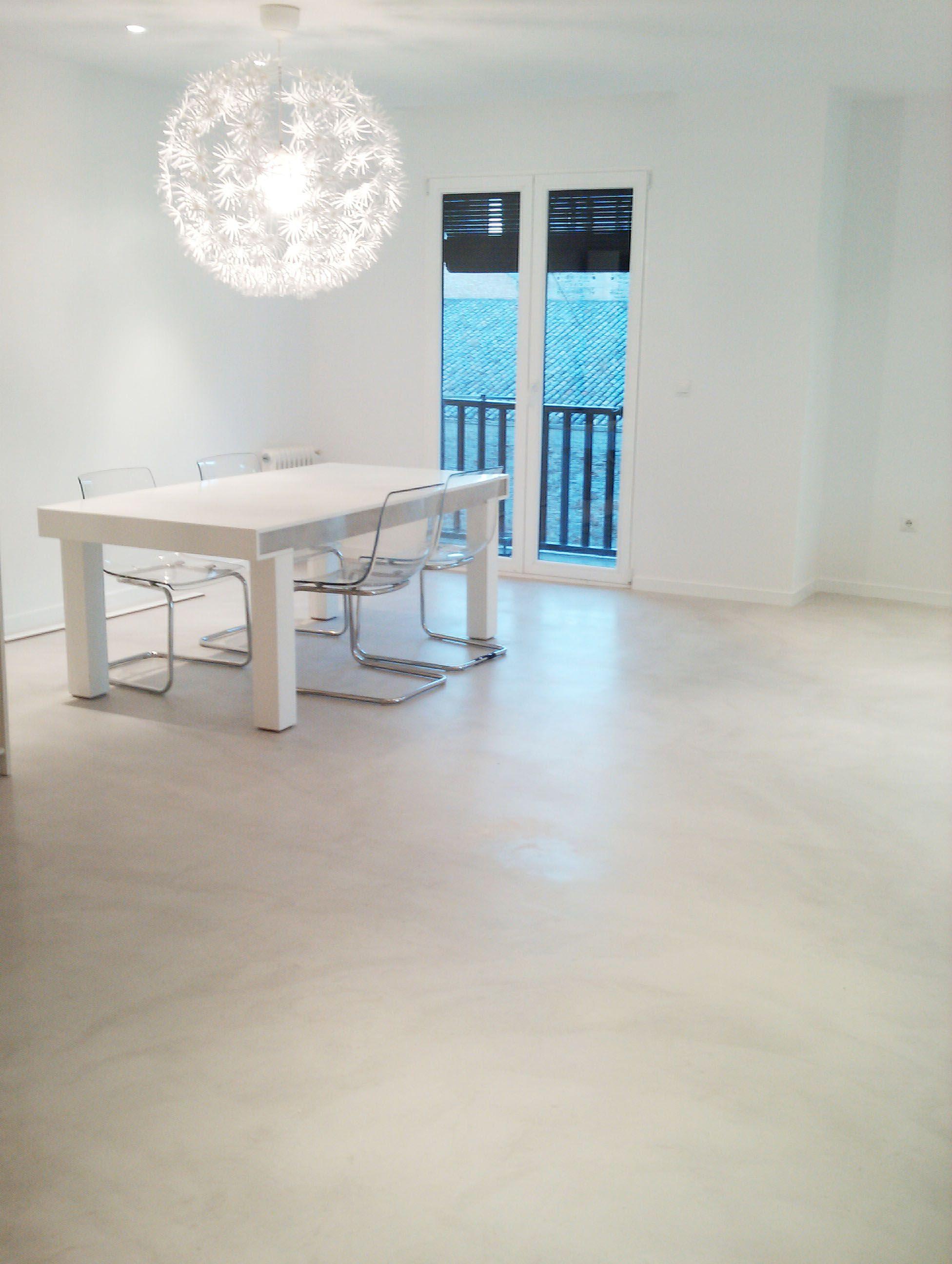 Suelo microcemento pisos pinterest - Microcemento que es ...