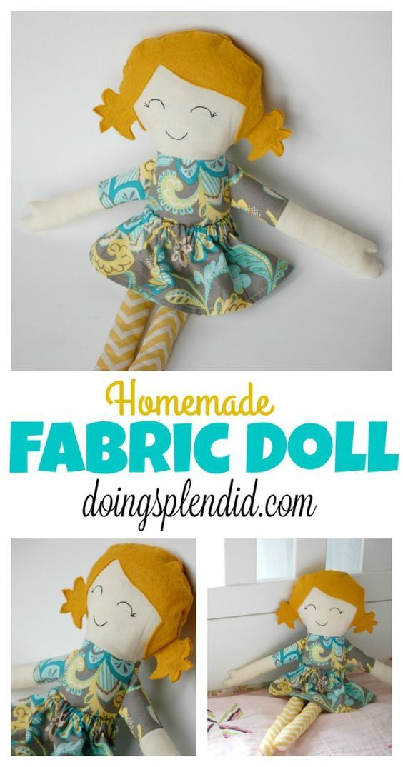Homemade Fabric Doll | Sewing & Quilting Tips & Tutorials ...