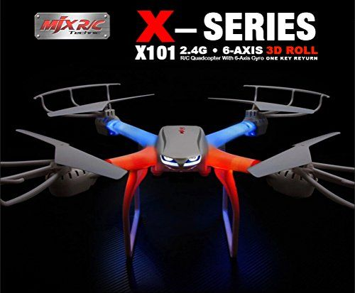 Dkrc Mjx X101 Professional Quadcopter 24g 6axis Rc Helicopter