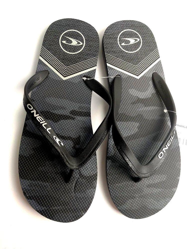 2e61f1bd2ac4 O Neill Mens Profile Thong Sandals Flip Flops Black Camp  ONeill  FlipFlops
