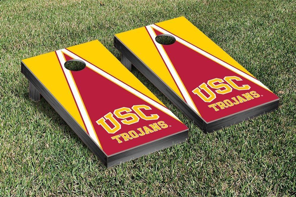 Pyramid of Power USC Trojans Corn Toss Game