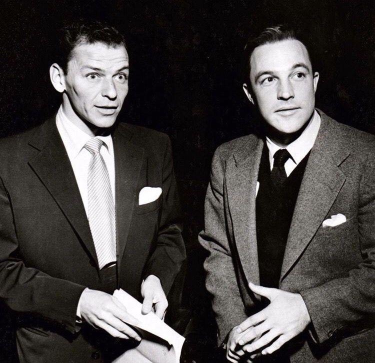 Frank Sinatra and Gene Kelly
