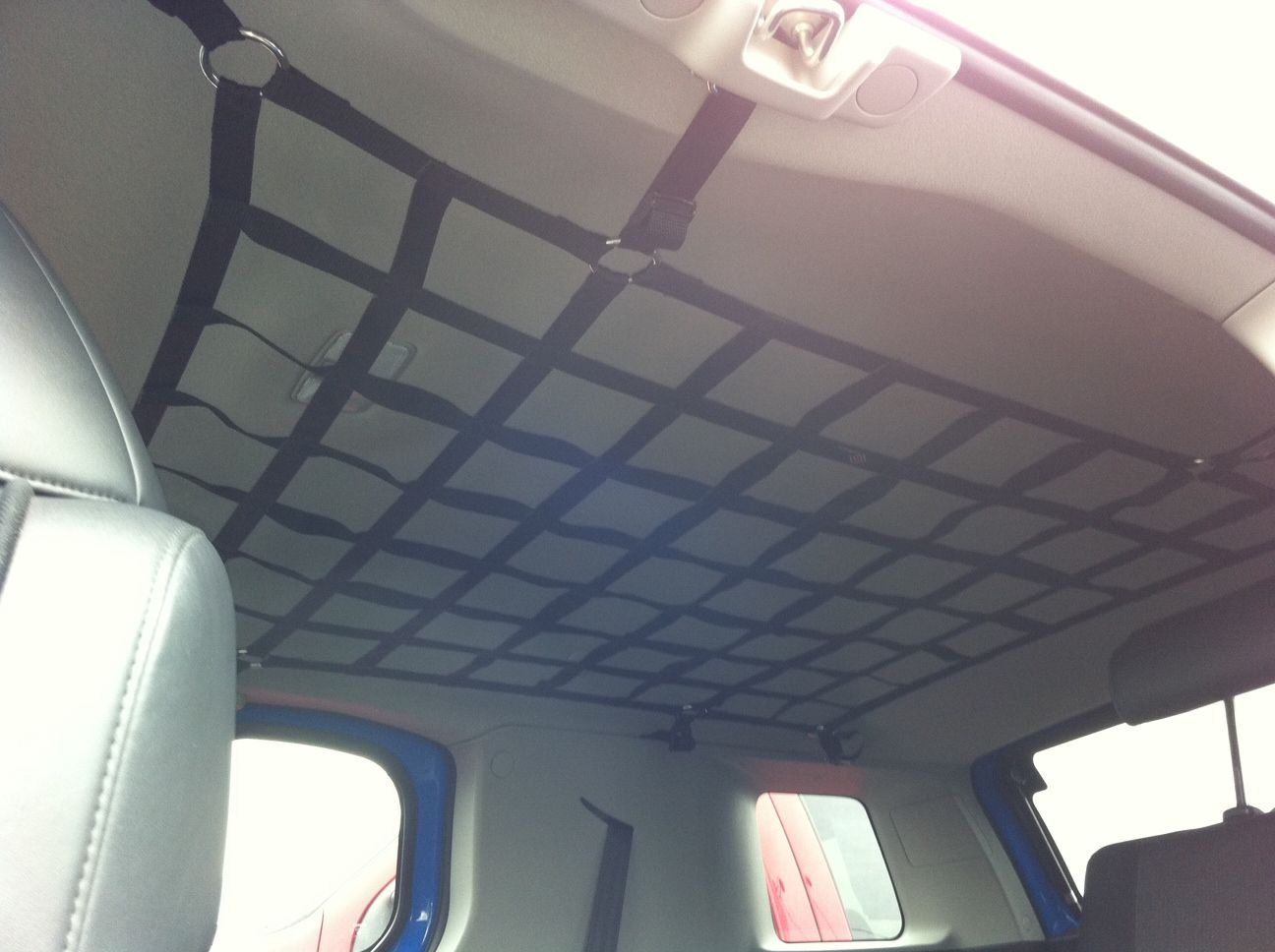 Interior Roof Cargo Net Clever Way To Store Things Like