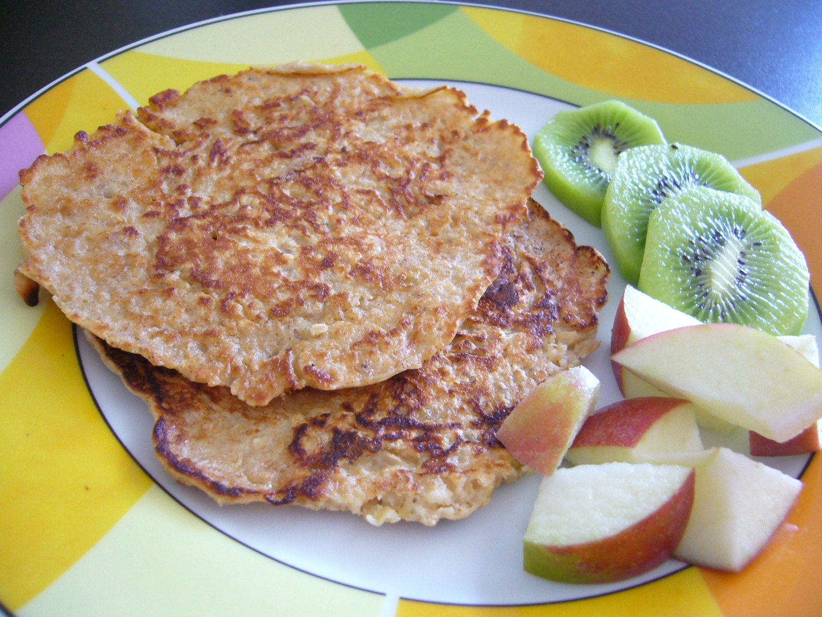 Oatmeal Pancakes - Hotcakes de avena