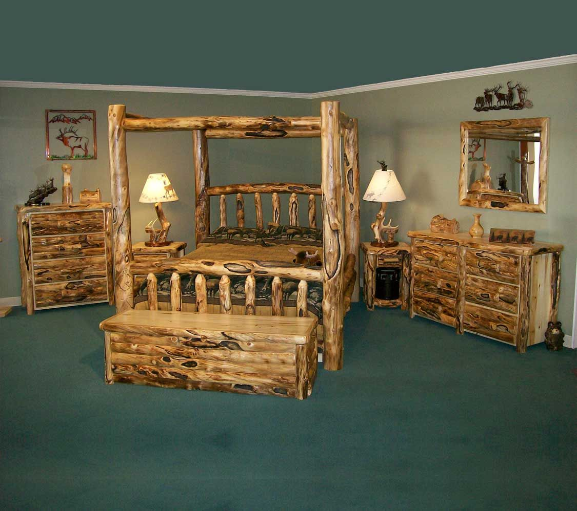 Rustic Bedroom Furniture | ... Furniture: Country, Simple, And Homely Style