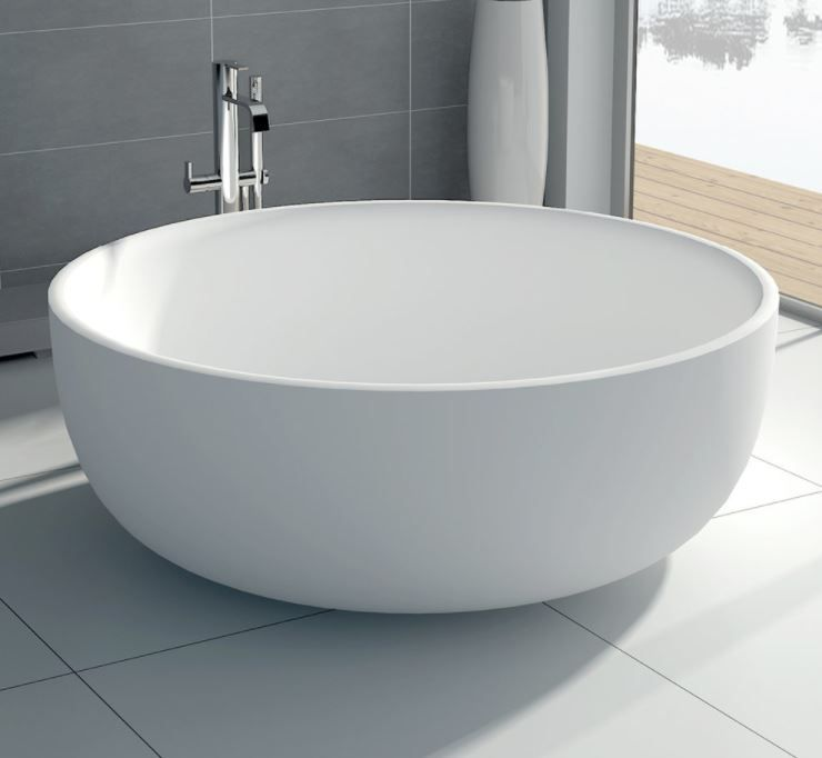 Rotondo Round Stone Bath | Builders Discount Warehouse | Baths ...