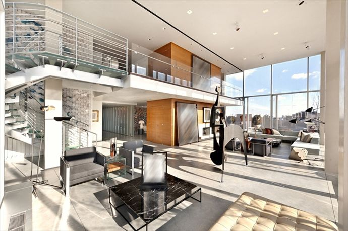 TriBeCa Duplex Penthouse Masterpiece with 360 degree Panoramic View