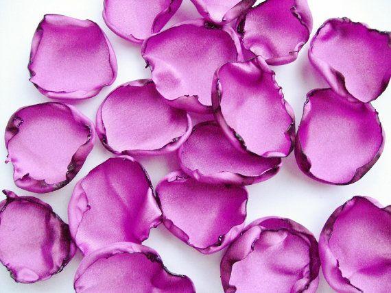 Purple Flower Petals Lavender Rose Petals Amethyst Table Decor Flower Girl Petals Wedding Baby Shower Wedding Table Decorations Purple Purple Roses Petals