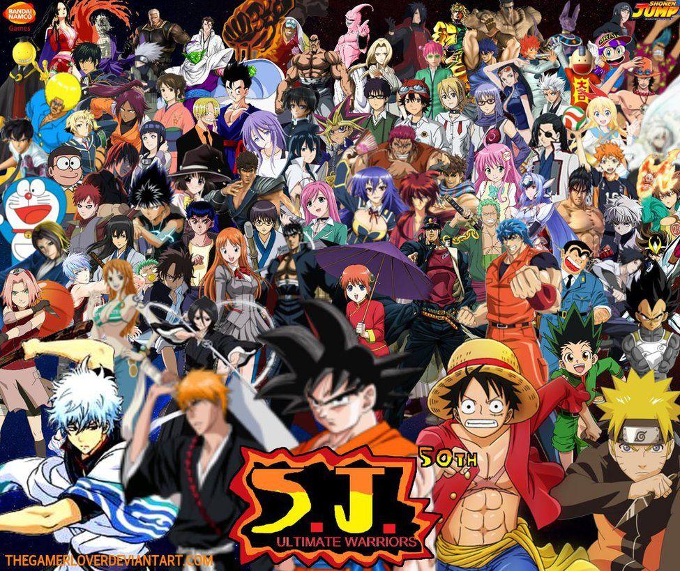 S.J. Ultimate Warriors Wallpaper by TheGamerLover