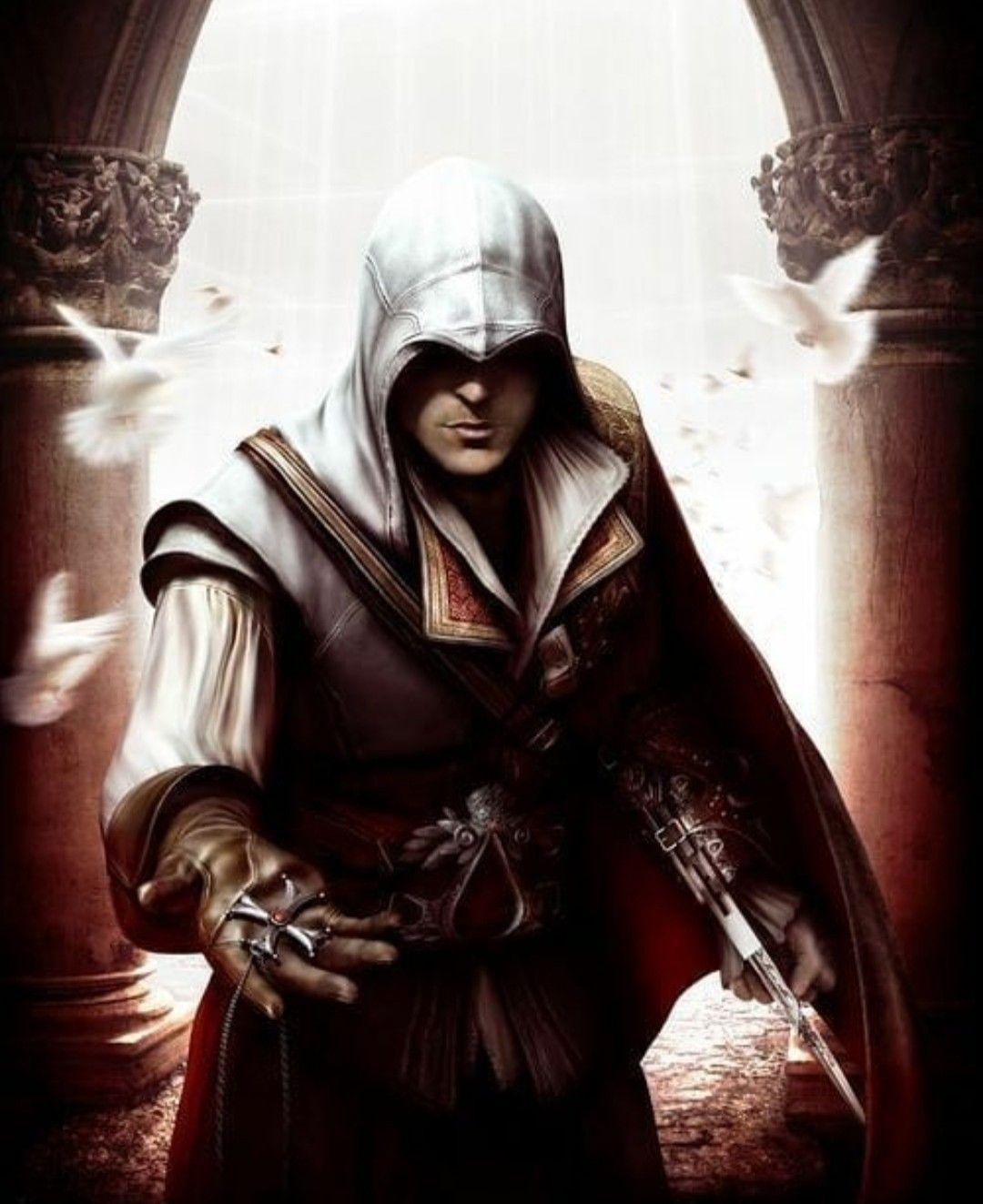 Ezio Auditore Da Firenze Assassins Creed 2 Assassins Creed Ii