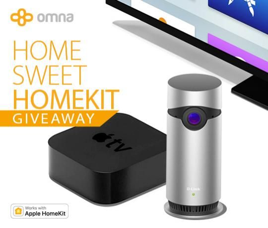 Win a D-Link Omna 180 Cam HD HomeKit Camera and a 4th Generation Apple TV!